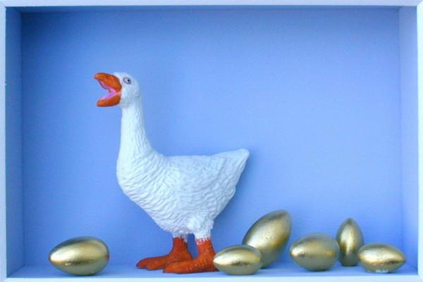 Die Gans, die goldene Eier legt