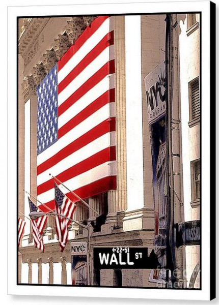 New York Stock Exchange by Linda Parker