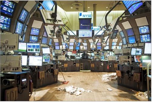 Börse nach Geschäftsschluss
