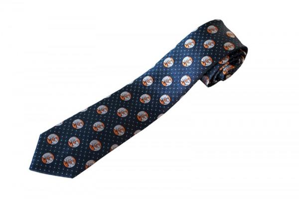 """Börsen-Krawatte """"Bulle und Bär"""""""