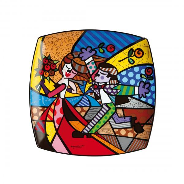 Follow Me - Wandbild Pop Art Romero Britto