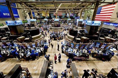 Blick über die New Yorker Börse