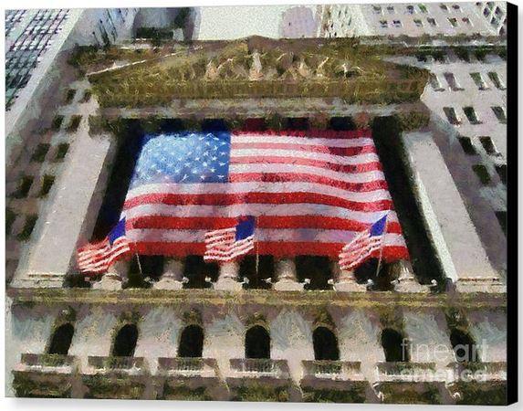 New York Stock Exchange by Gerorge Atsametakis