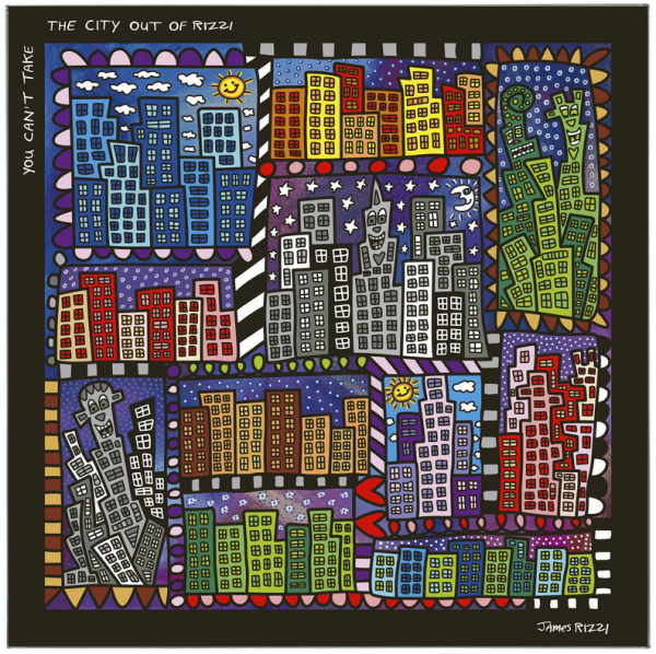 You Can't Take the City Out of Rizzi - Magnettafel