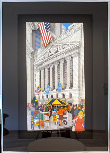 The New York Stock Exchange N.Y.C.