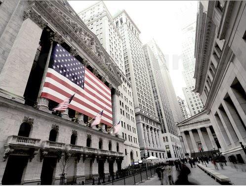 Die Fassade der New Yorker Börse