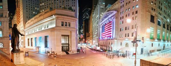 NYC Wall Street Panorama