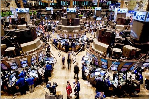 Blick in die New Yorker Wertpapierbörse