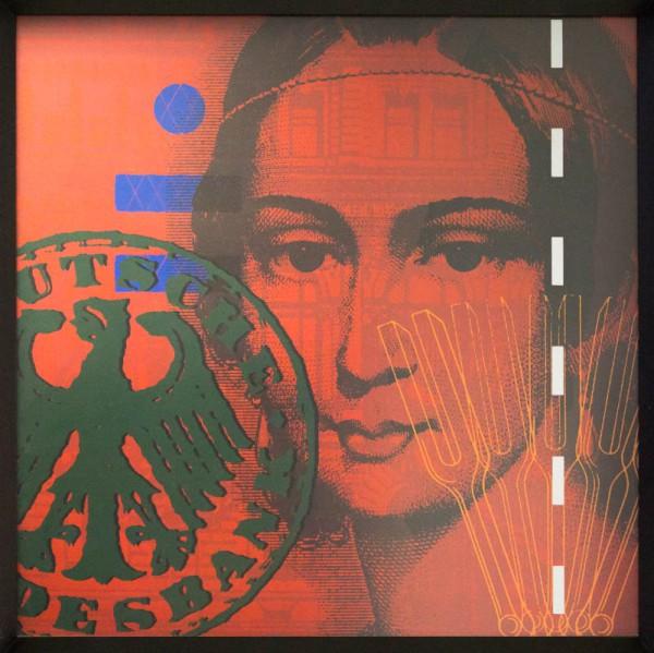 Clara Schumann rot / grün