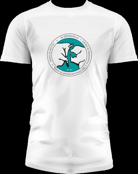 """Fan-T-Shirt """"Bulle und Bär""""- Herren weiß"""