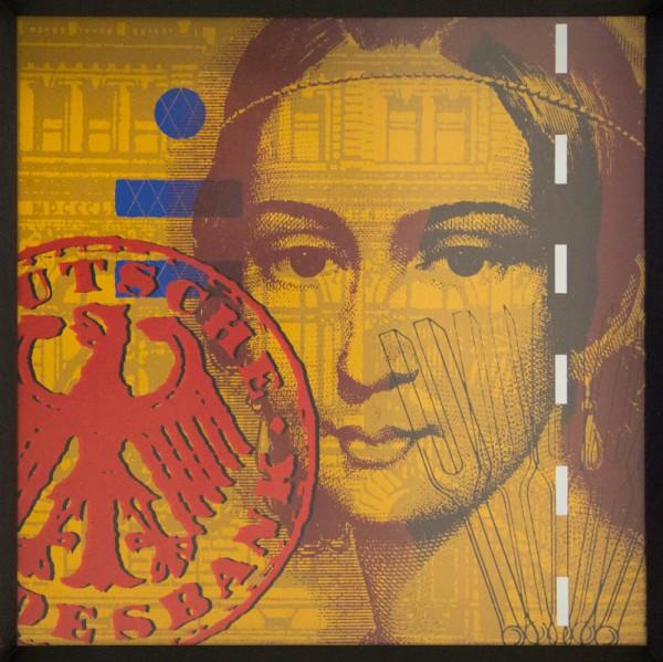 Clara Schumann braun / rot
