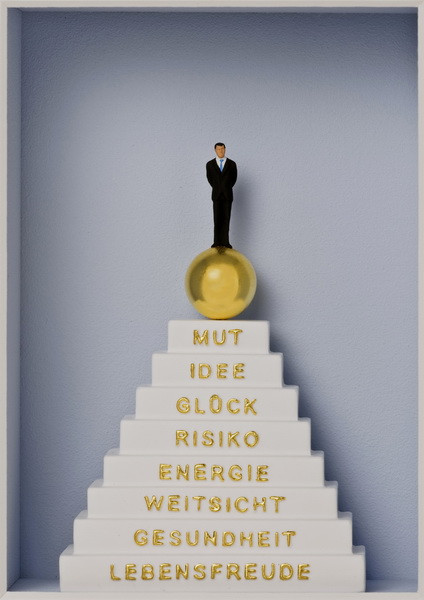 Stufen zum Erfolg