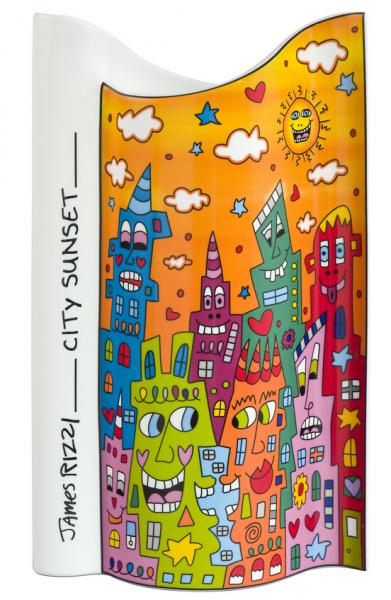 City Sunset - Vase - 26
